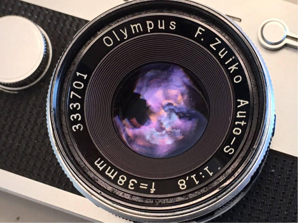 OLYMPUS-PEN F 中古品です。_画像2