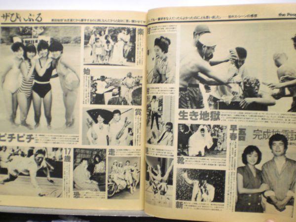 ザ・テレビジョン 1985年7/26・29号 本田美奈子・爆風スランプ・夕やけニャンニャン・_画像4