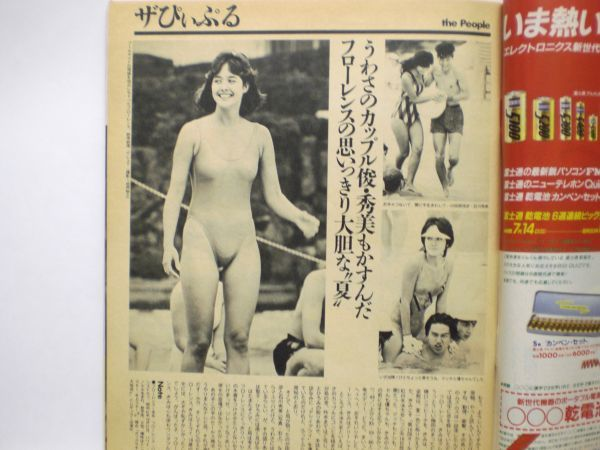ザ・テレビジョン 1985年7/26・29号 本田美奈子・爆風スランプ・夕やけニャンニャン・_画像3