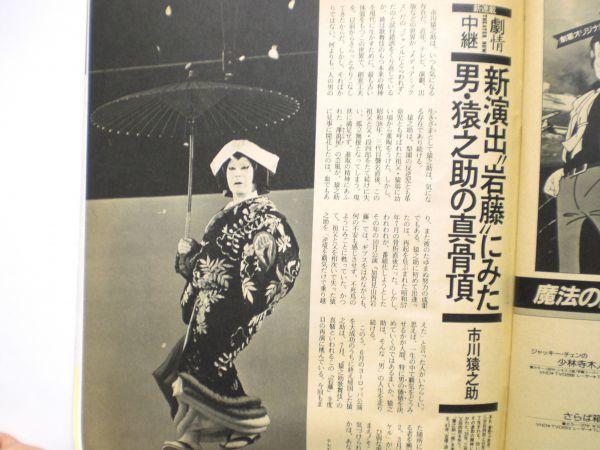 ザ・テレビジョン 1985年7/26・29号 本田美奈子・爆風スランプ・夕やけニャンニャン・_画像7