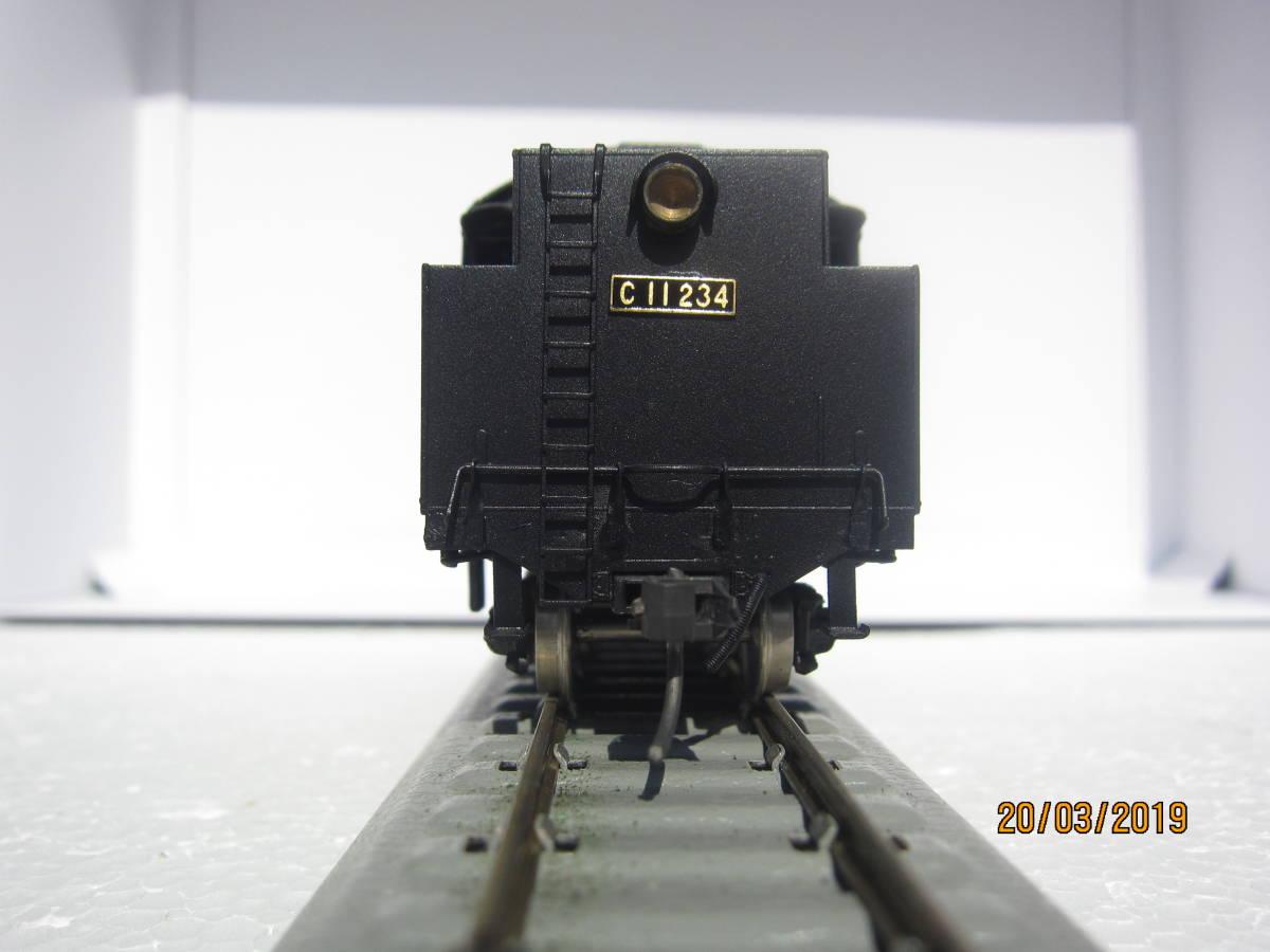 国鉄C11蒸気機関車 HO (中村精密製) 真鍮製
