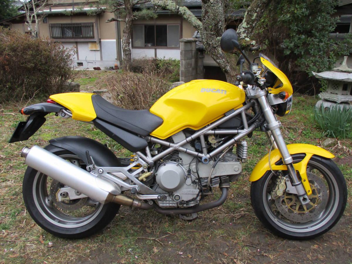 M900IE インジェクション  車検32年4月 黄色_画像1
