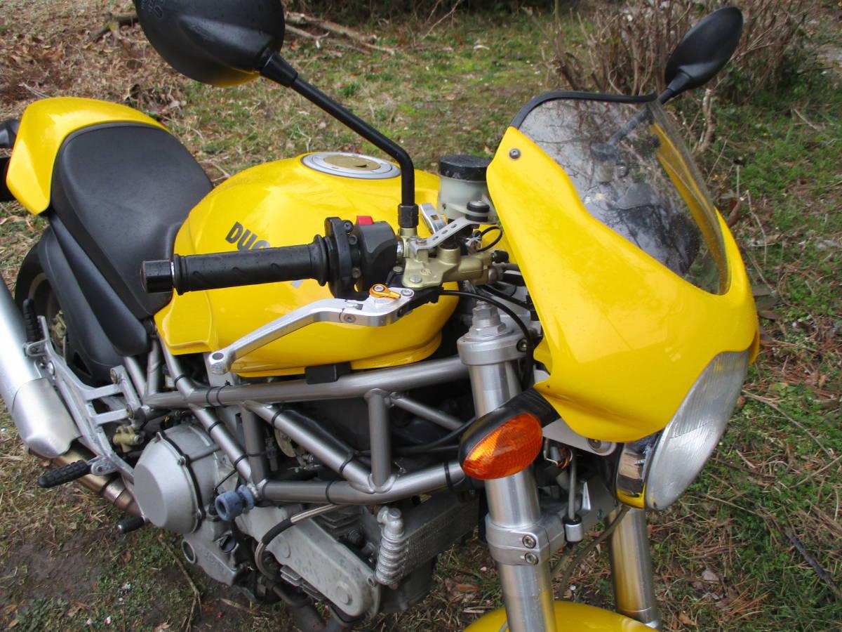 M900IE インジェクション  車検32年4月 黄色_画像3