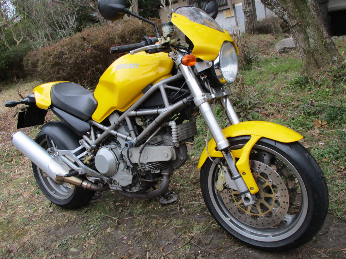 M900IE インジェクション  車検32年4月 黄色_画像2