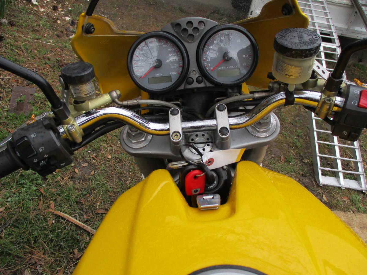 M900IE インジェクション  車検32年4月 黄色_画像7