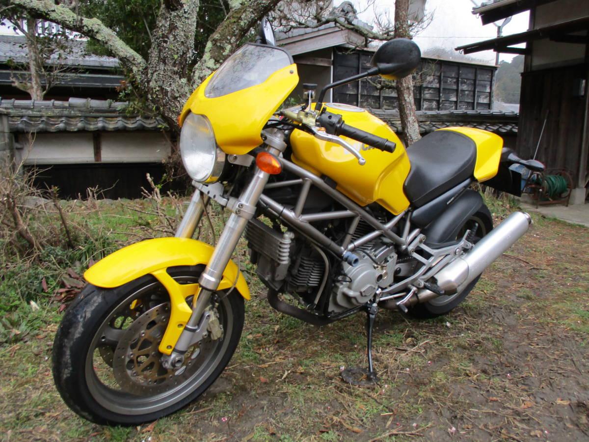 M900IE インジェクション  車検32年4月 黄色_画像8