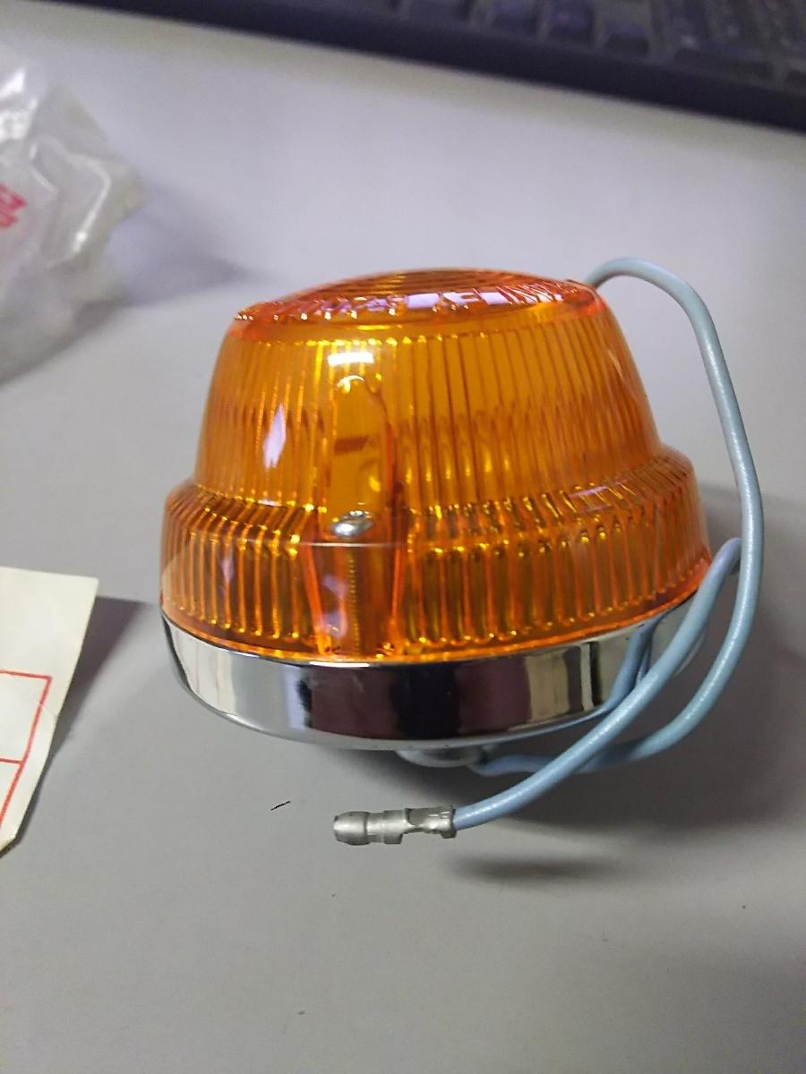 ホンダ純正 ウインカー 新品 33400-086-003 スーパーカブ カモメ 行灯 C50 C70 当時物 希少 _画像3