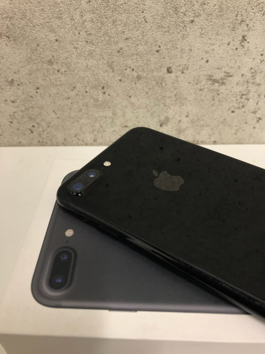 超美品☆ SIMフリー・Apple iPhone 7 Plus 128gb ☆ ジェットブラック☆ 判定◯☆ 格安SIM使用可 ☆ 海外でも使用可_画像4