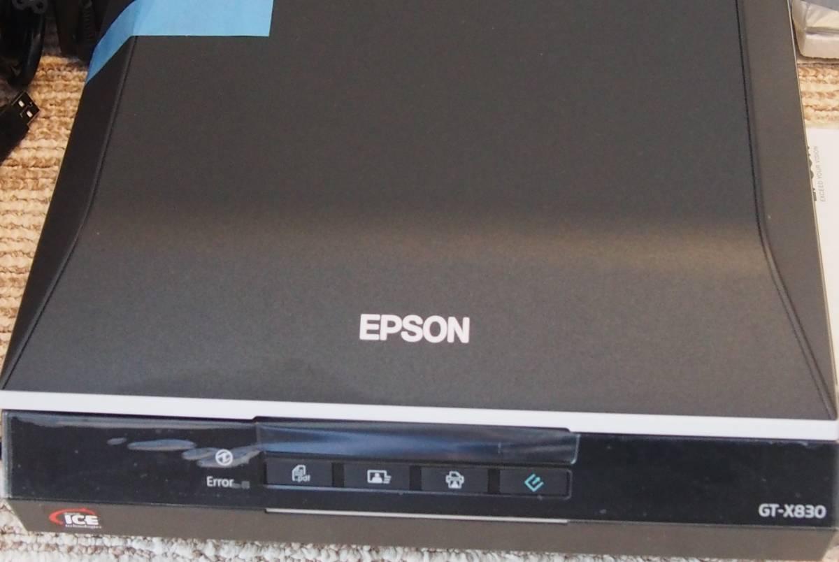 エプソン A4フラットベッドスキャナー  GT-X830  【中古品】_画像2