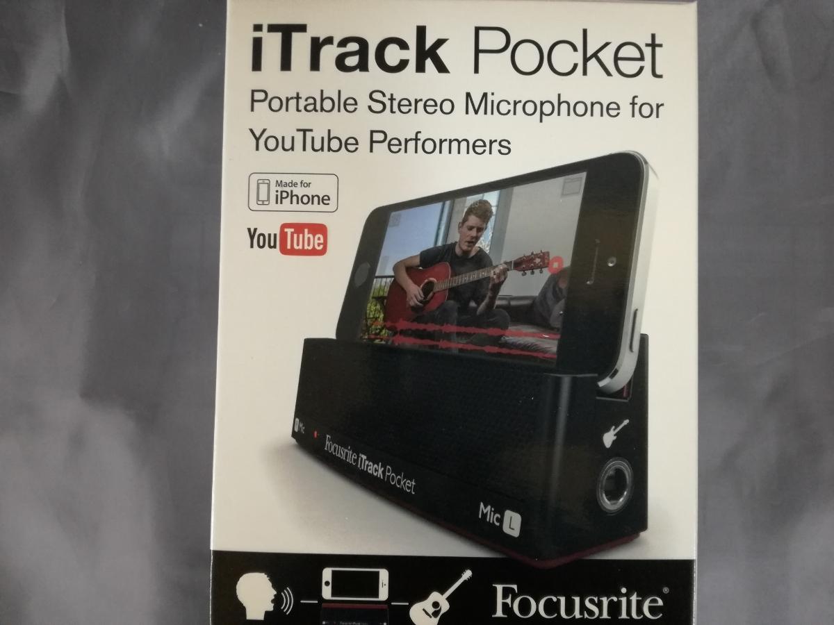 J499 新品 送料無料 Focusrite iTrack Pocket / iPhoneレコーディングデバイス 楽曲制作 歌ってみた 踊ってみた 動画配信 ユーチューバー_画像1