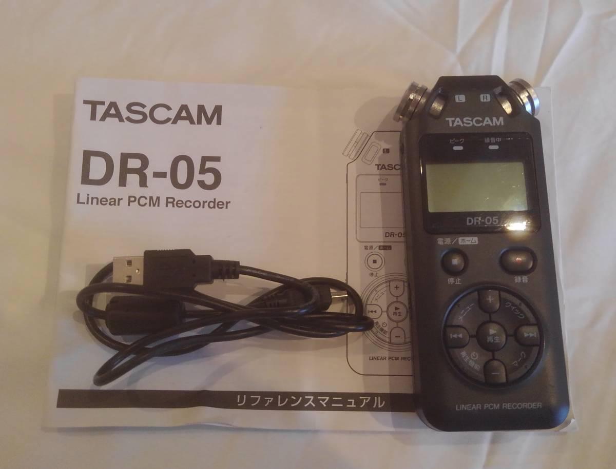 ◆TASCAM DR-05 タスカム Liner PMC Recorder レコーダー◆
