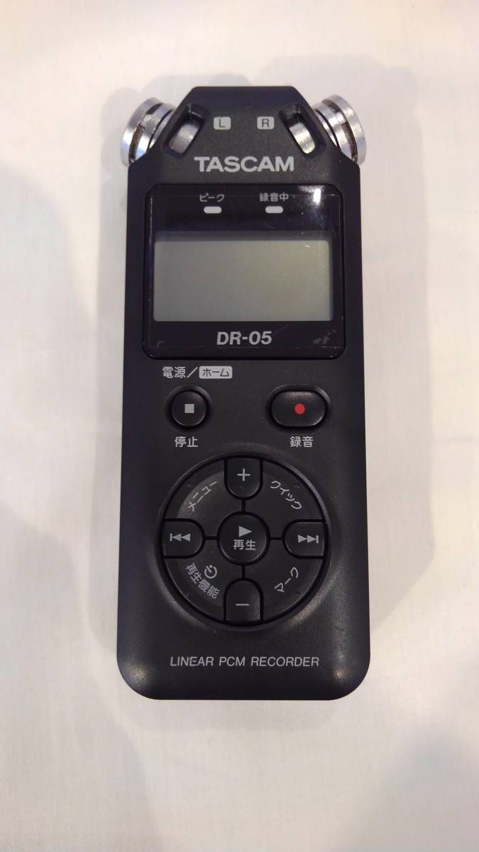 ◆TASCAM DR-05 タスカム Liner PMC Recorder レコーダー◆_画像2