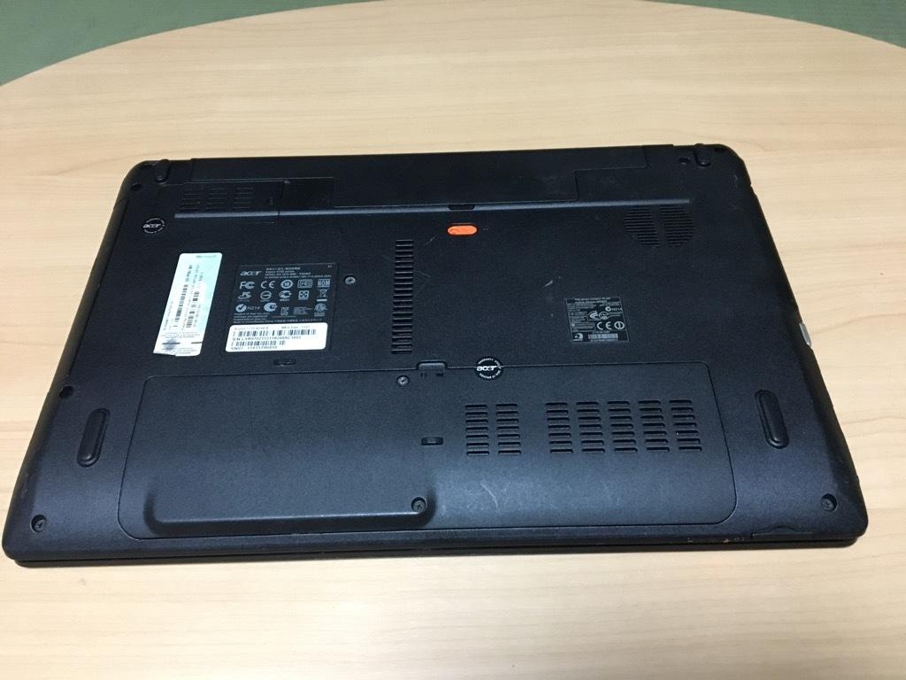 「美品」超速SSHD使用 Acer Aspire 5750-N54E/K Corei5-2410M/8GB/SSHD(1TB)1000GB/DVDマルチ Windows10 Office2013 _画像3