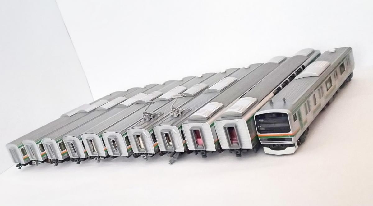 1円スタート! 鉄道模型 Nゲージ KATO e231系 湘南新宿ライン 他 11両