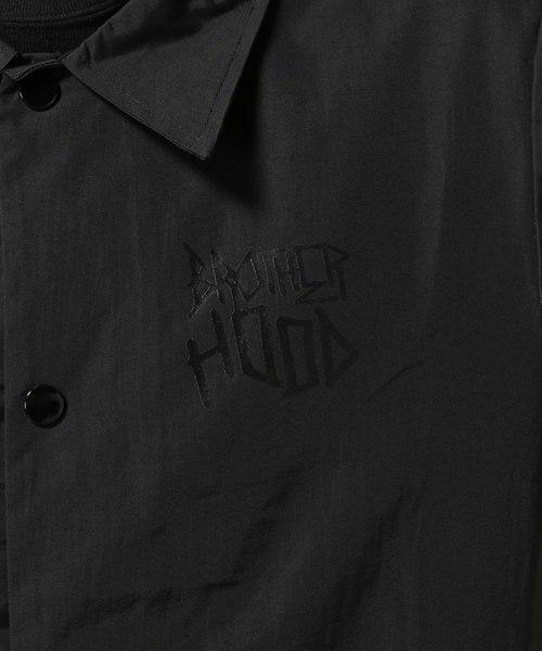 2018 ビッグサイズ Brother hood ブラザーフッド Iconic Coach Jacket 黒 正規品 新品未使用 タグ付き 撮影,採寸の為開封 人気完売XLサイズ_正規店購入