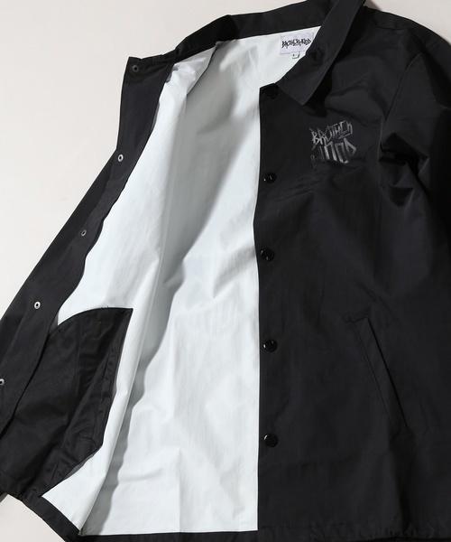 2018 ビッグサイズ Brother hood ブラザーフッド Iconic Coach Jacket 黒 正規品 新品未使用 タグ付き 撮影,採寸の為開封 人気完売XLサイズ_本体:ナイロン100%