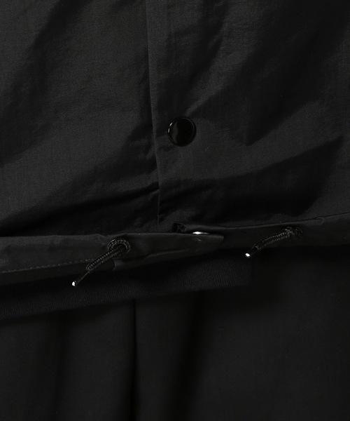 2018 ビッグサイズ Brother hood ブラザーフッド Iconic Coach Jacket 黒 正規品 新品未使用 タグ付き 撮影,採寸の為開封 人気完売XLサイズ_裾にしぼり紐付きです