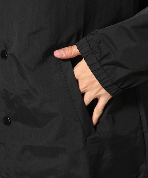 2018 ビッグサイズ Brother hood ブラザーフッド Iconic Coach Jacket 黒 正規品 新品未使用 タグ付き 撮影,採寸の為開封 人気完売XLサイズ_裏面:ナイロン(ポリウレタンコーティング)