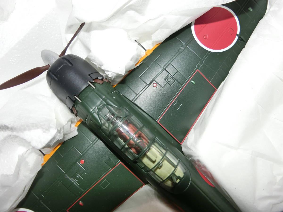 合金製 ずっしり 1/48 アオシマ 零式艦上戦闘機   三菱 A 6 M 5  五二型  第653海軍航空隊_画像10