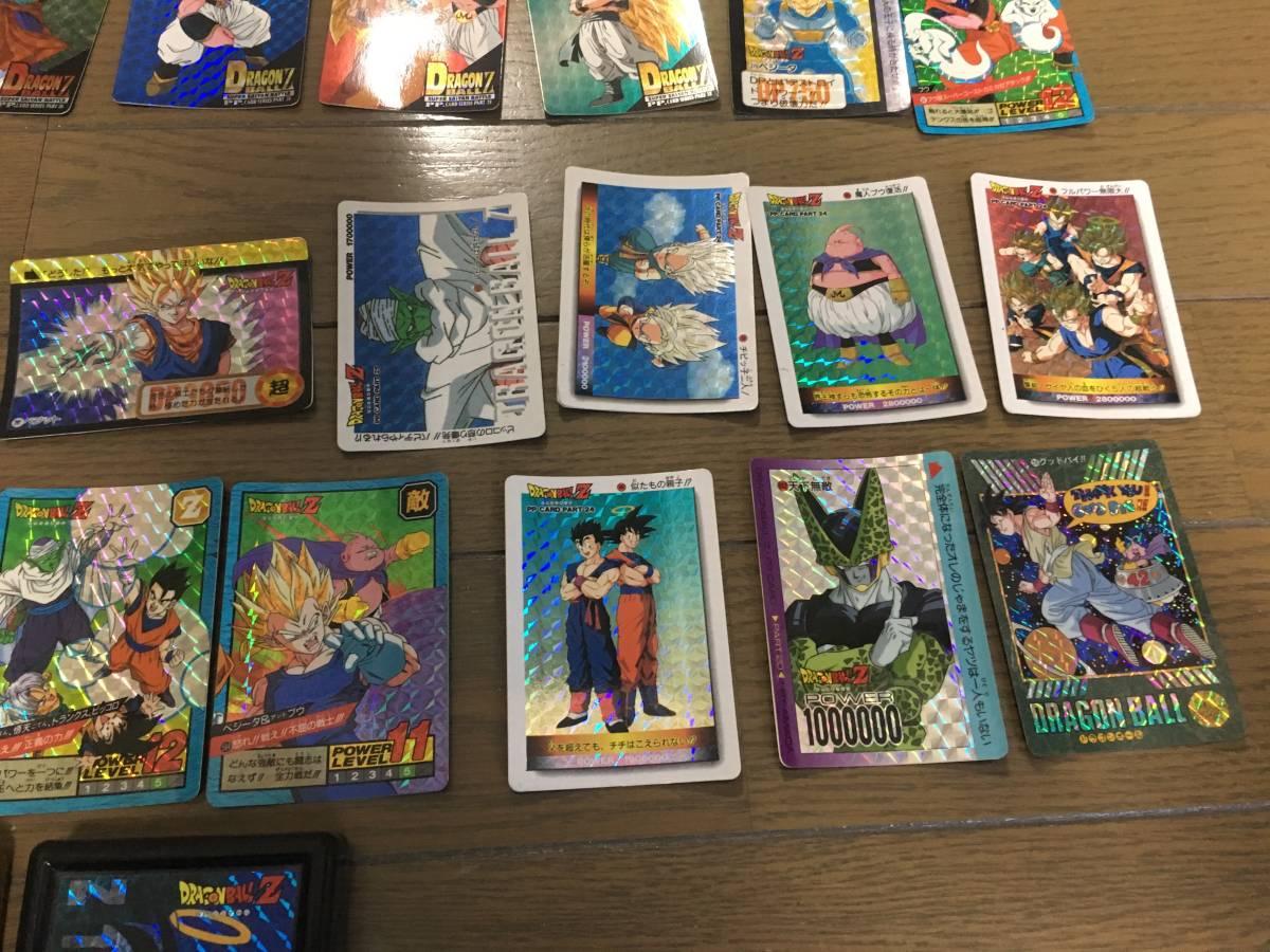 ドラゴンボール カードダス ケース 孫悟空 キラカード ホロカード 記念カード 大量セット DRAGON BALL Z GT_画像3