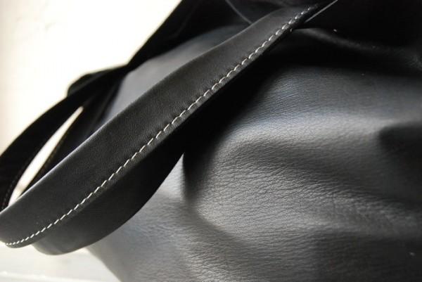 贅沢 とても軽量 クチャ 肩掛け 天然革 レザーバッグ ハンドメイド 日本製_画像9