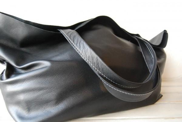贅沢 とても軽量 クチャ 肩掛け 天然革 レザーバッグ ハンドメイド 日本製_画像4