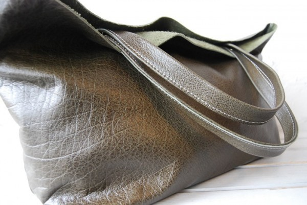 贅沢 バッファロー 肩掛け 天然革 オリジナル 兼用バッグ ハンドメイド_画像4