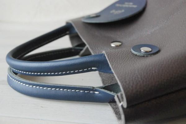 軽量 型押し ハンドメイド シンプル オールレザー 革 お取り置き可_画像4