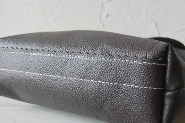 軽量 型押し ハンドメイド シンプル オールレザー 革 お取り置き可_画像3
