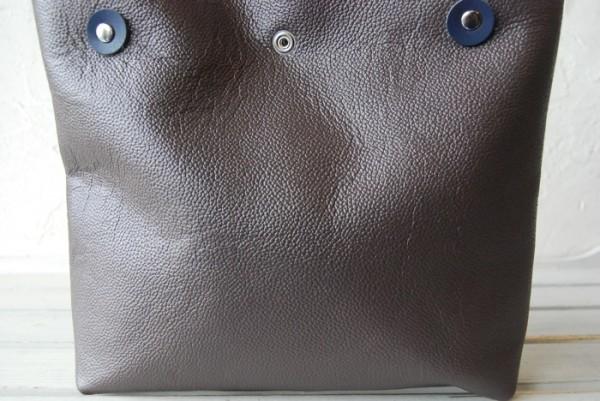 軽量 型押し ハンドメイド シンプル オールレザー 革 お取り置き可_画像2