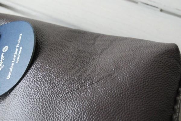 軽量 型押し ハンドメイド シンプル オールレザー 革 お取り置き可_画像6