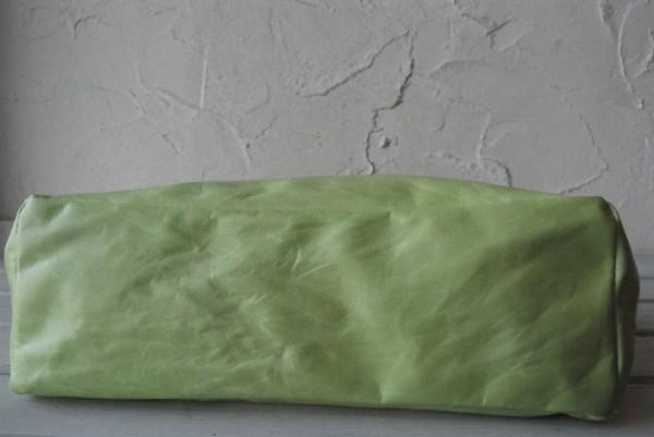 とても軽量 クシャ シンプル 革 ハンドメイドバッグ お取り置き可_画像3