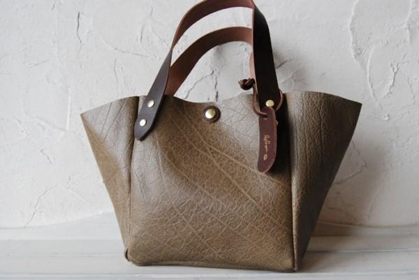 軽量 バッファロー オールレザー 国産 本革 ハンドメイドバッグ