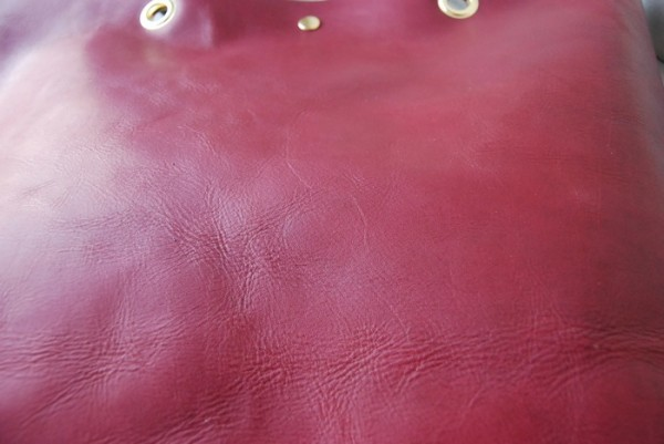 贅沢 柔らかい コシ 軽量 天然革 レザーバッグ ハンドメイド 日本製_画像6