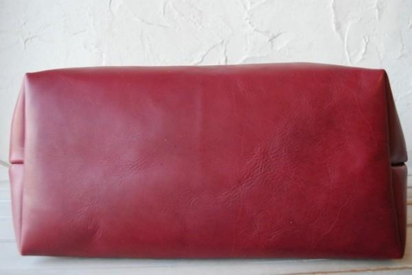 贅沢 柔らかい コシ 軽量 天然革 レザーバッグ ハンドメイド 日本製_画像3