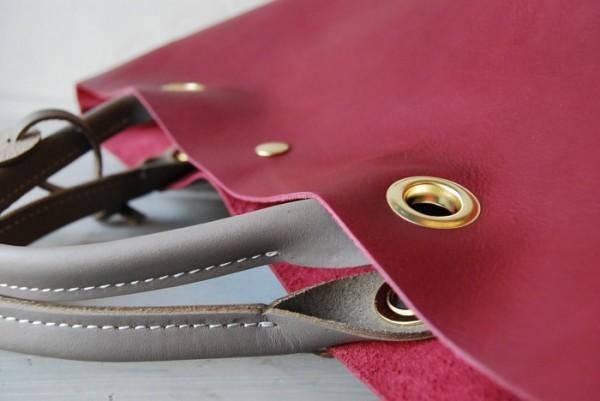 贅沢 柔らかい コシ 軽量 天然革 レザーバッグ ハンドメイド 日本製_画像5