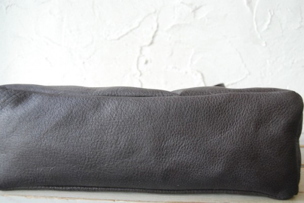 とても軽量 クシャ レザーバッグ ハンドメイド オリジナル お取り置き可_画像3