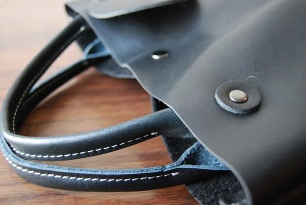 とても軽量 クチャ ハンドメイド シンプル オールレザー 革 お取り置き可_画像4