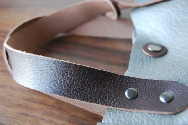 軽量 バッファロー 天然革 ハンドメイドバッグ お取り置き可_画像4