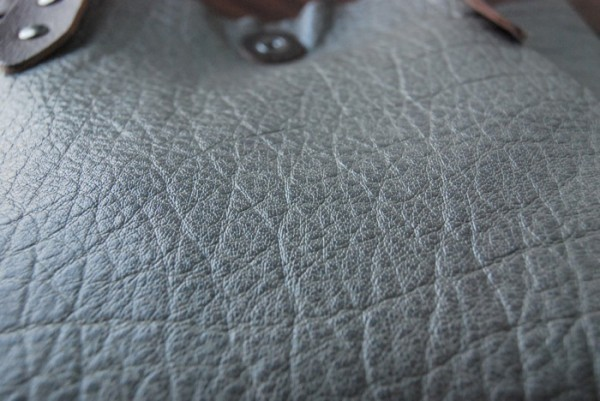 軽量 バッファロー 天然革 ハンドメイドバッグ お取り置き可_画像6