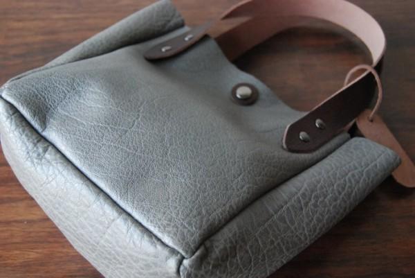 軽量 バッファロー 天然革 ハンドメイドバッグ お取り置き可_画像7