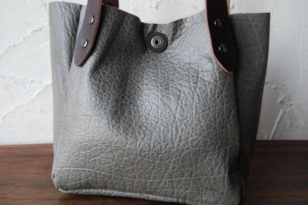 軽量 バッファロー 天然革 ハンドメイドバッグ お取り置き可_画像2