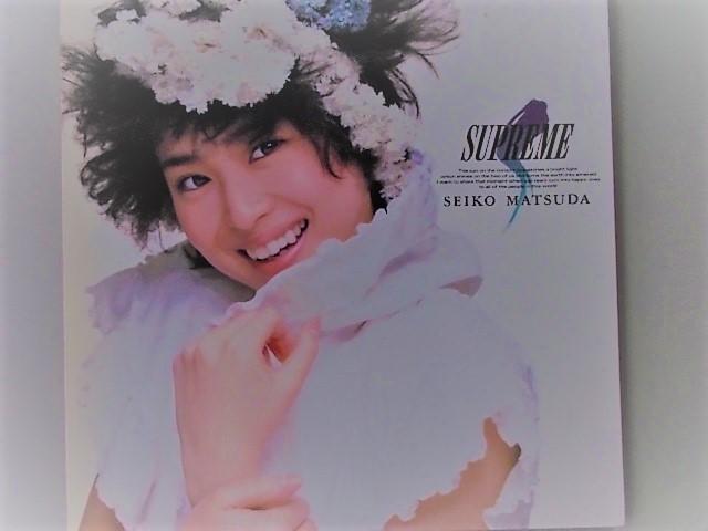 松田聖子 SUPREME レコード 中古品_画像1