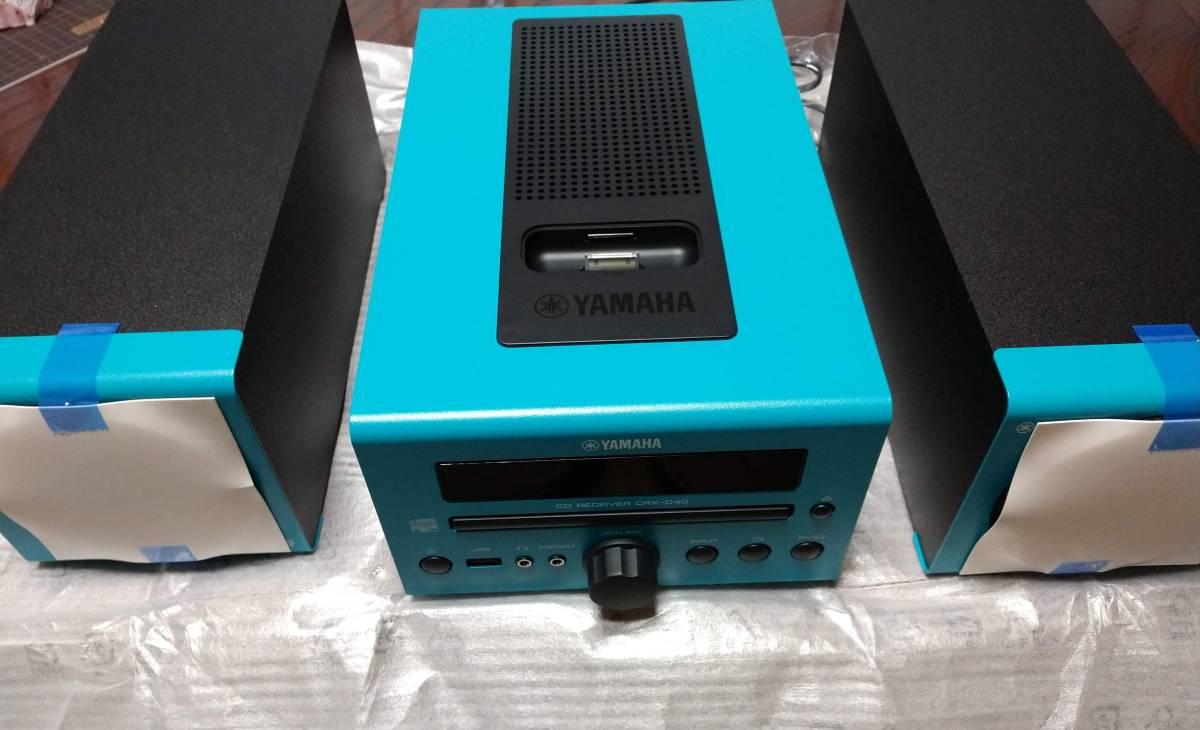 【中古美品】ヤマハ MCR-040 (CRX-040 , NS-BP80) CD,iPod再生
