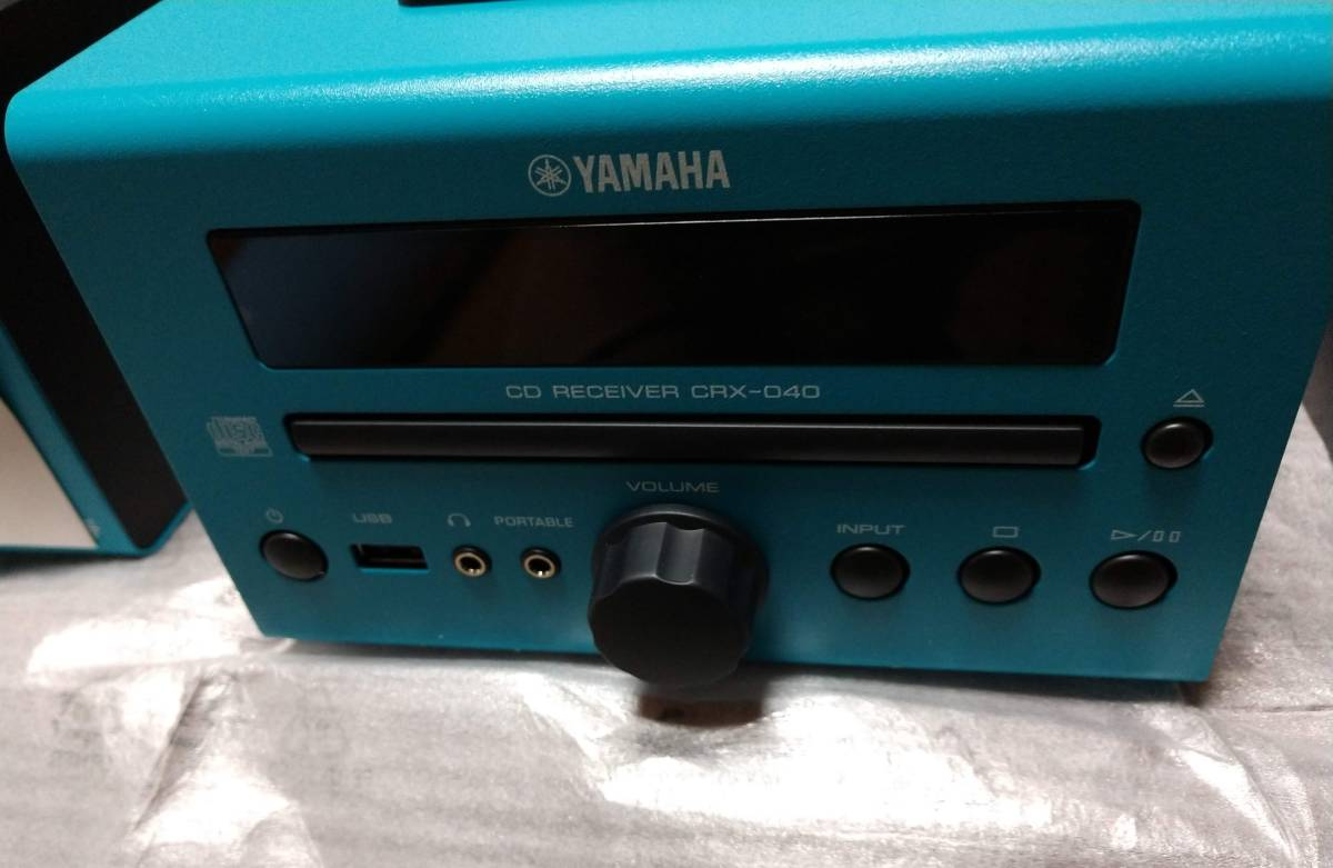 【中古美品】ヤマハ MCR-040 (CRX-040 , NS-BP80) CD,iPod再生_画像2