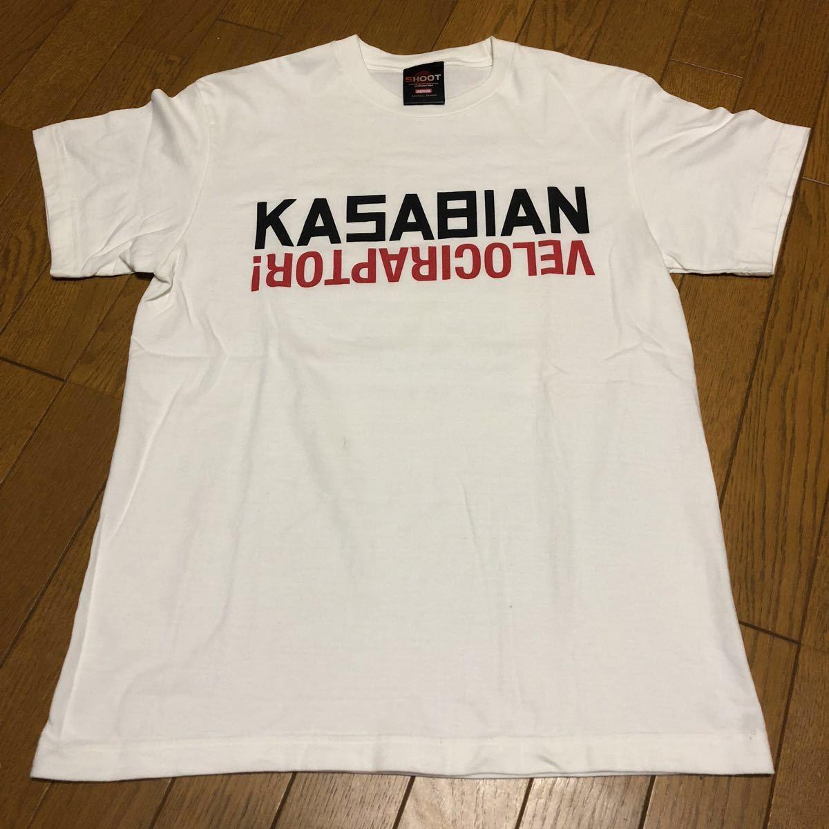 2012年 カサビアン kasabian ツアー tシャツ / the libertines the strokes the view oasis Radiohead blur