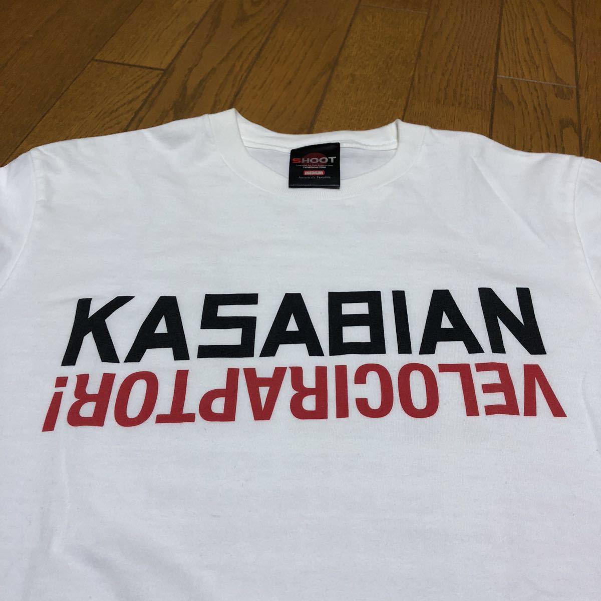 2012年 カサビアン kasabian ツアー tシャツ / the libertines the strokes the view oasis Radiohead blur _画像4