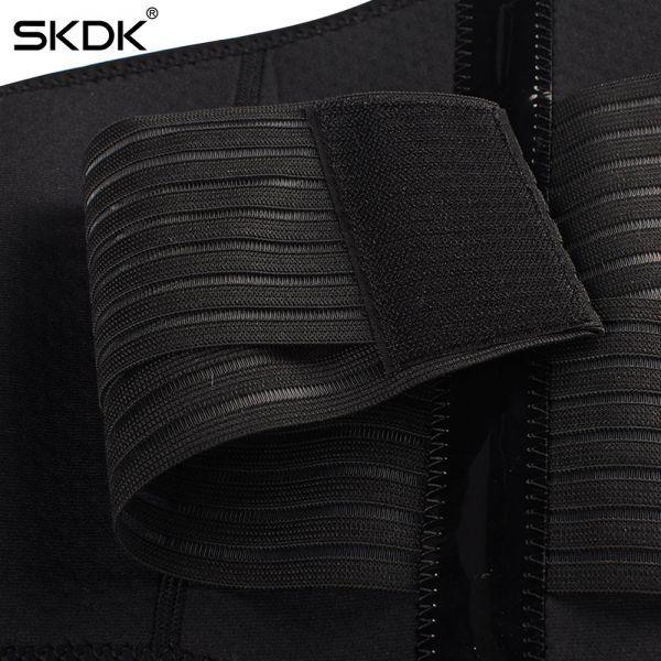☆彡SKDK メンズ & レディースアジャスタブル弾性ウエストサポートベルト腰椎バックサポートワークアウトベルトブレース_画像5