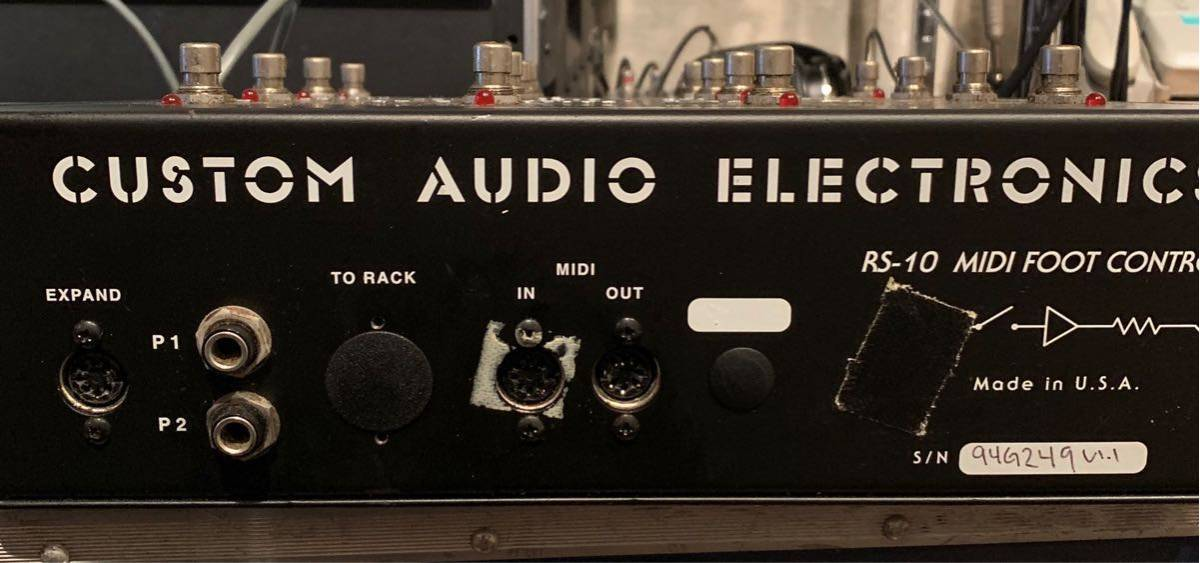 E-gitarren Custom Audio Electronics Rs-10