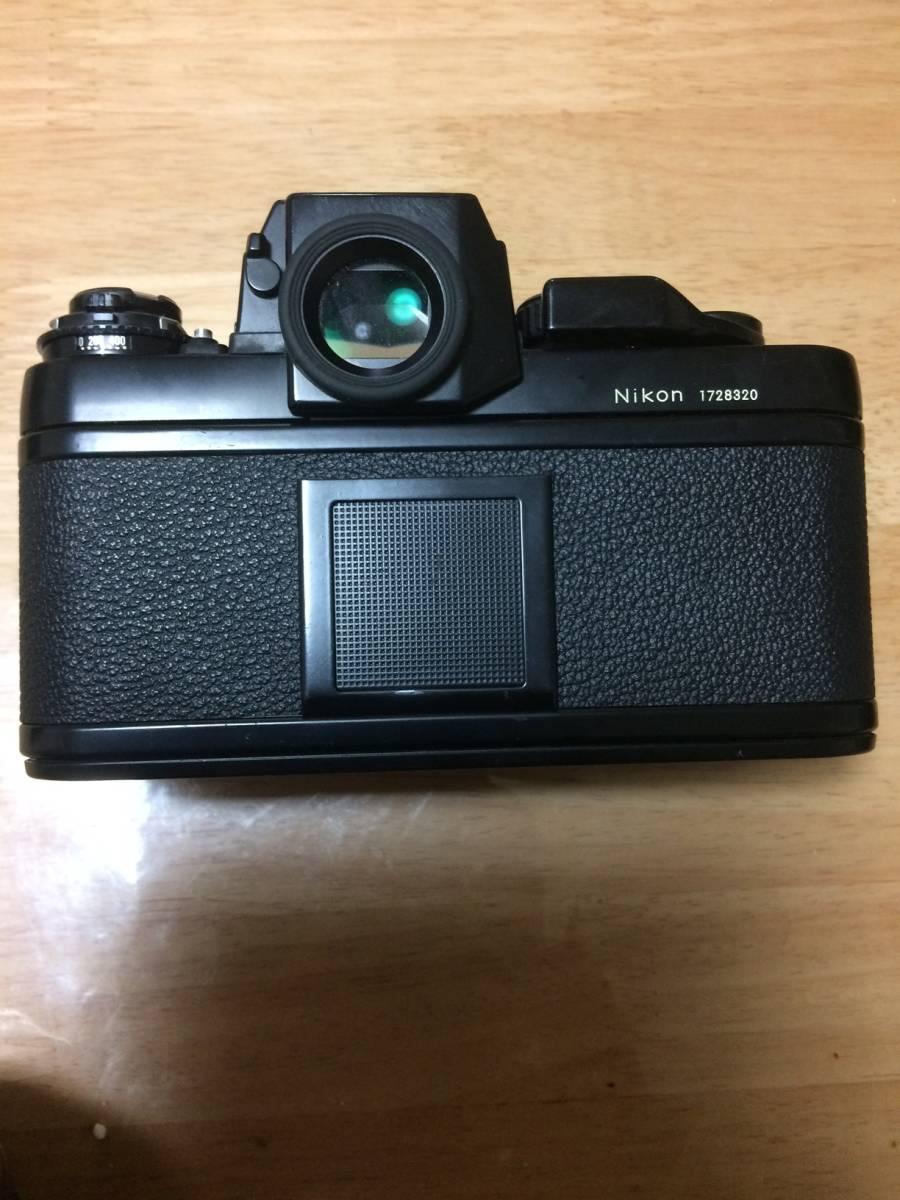 NIKON ニコン F3 HP ハイアイポイント ブラック ボディ _画像2